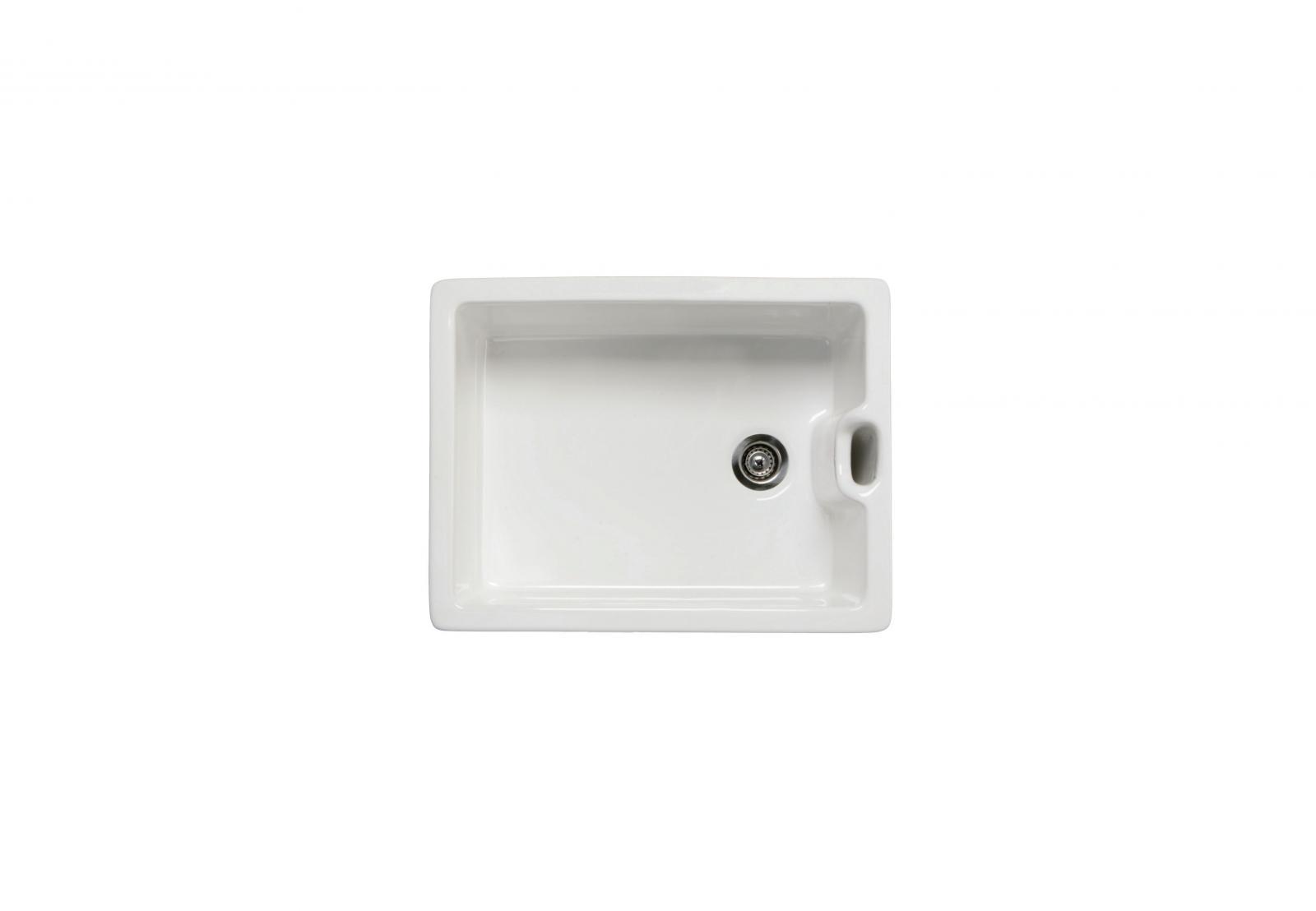 High-quality sink Clovis - single bowl, ceramic