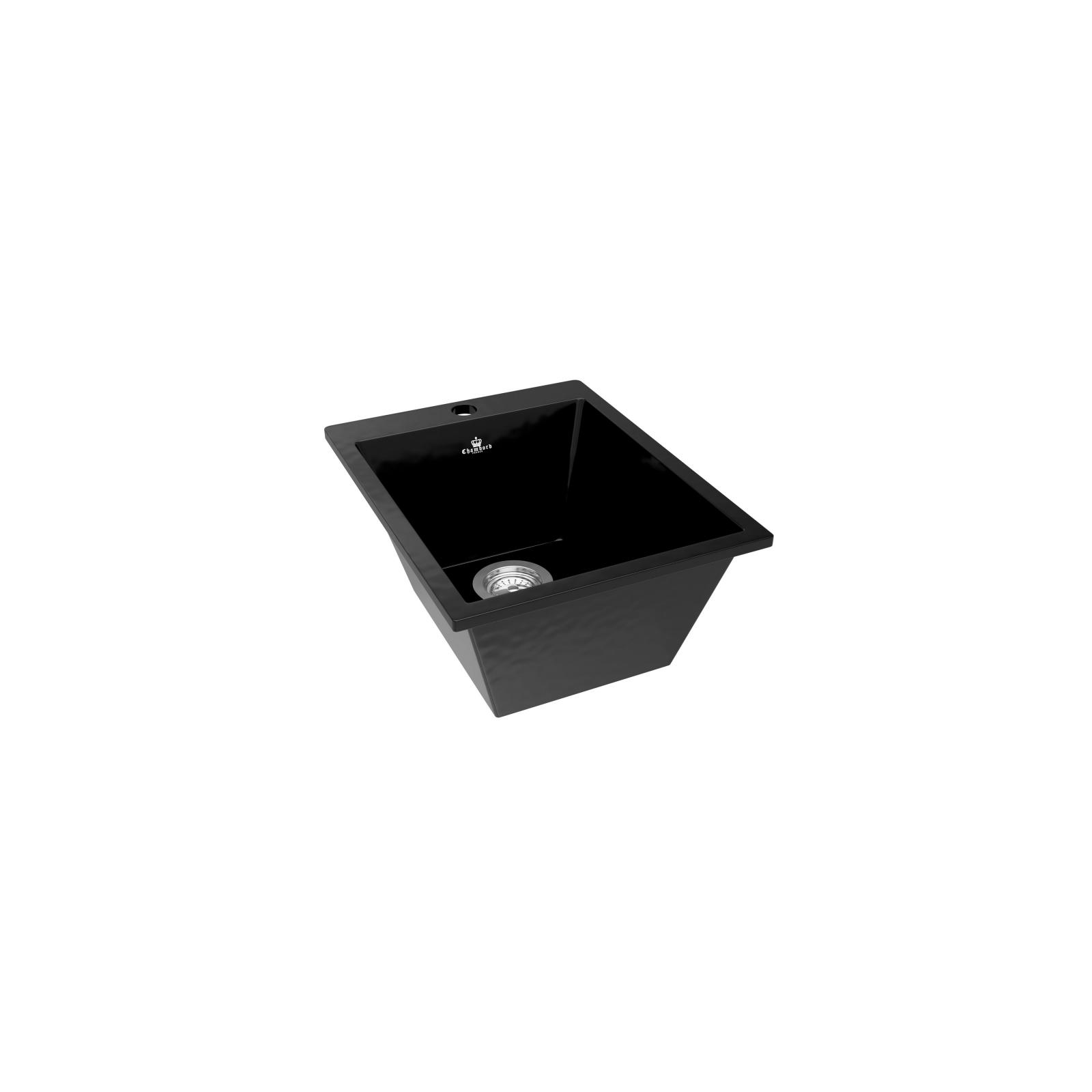 High-quality sink Constance black