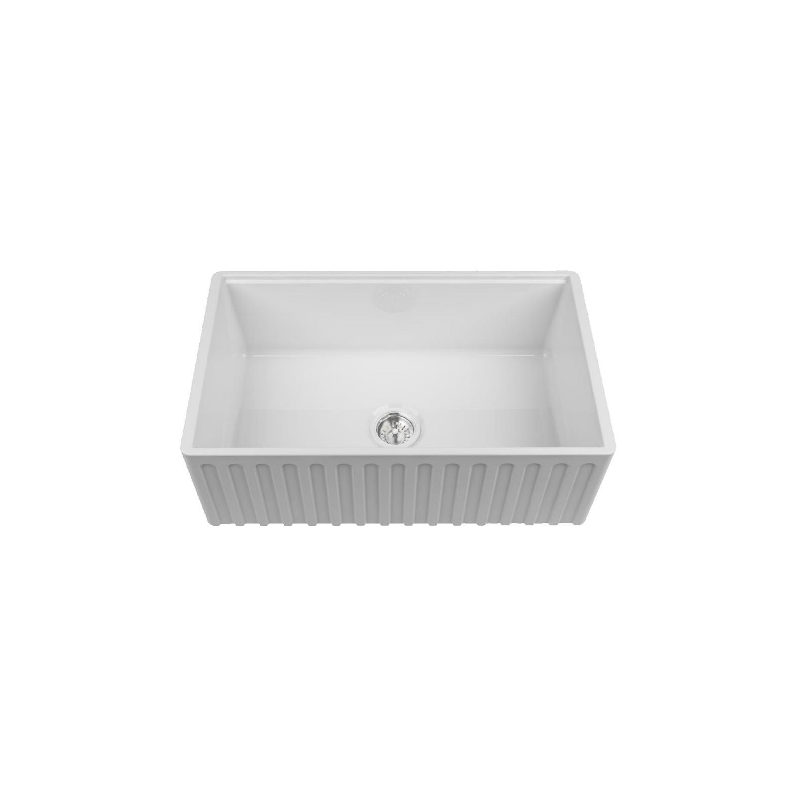 High-quality sink Louis Le Grand I - single bowl, ceramic