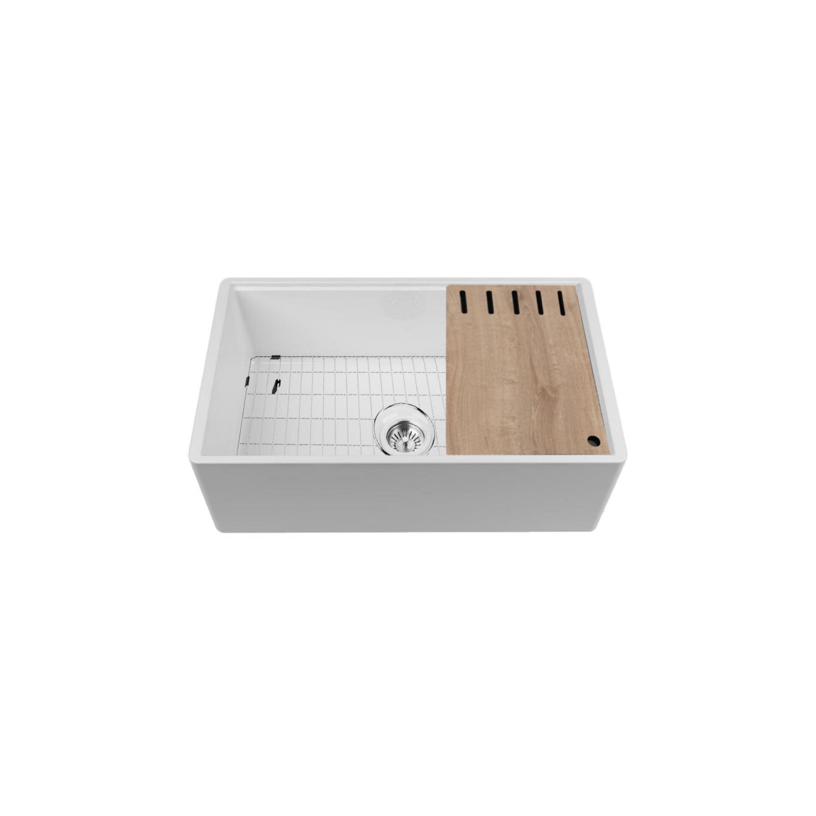 High-quality sink Louis Le Grand I - single bowl, ceramic - 3