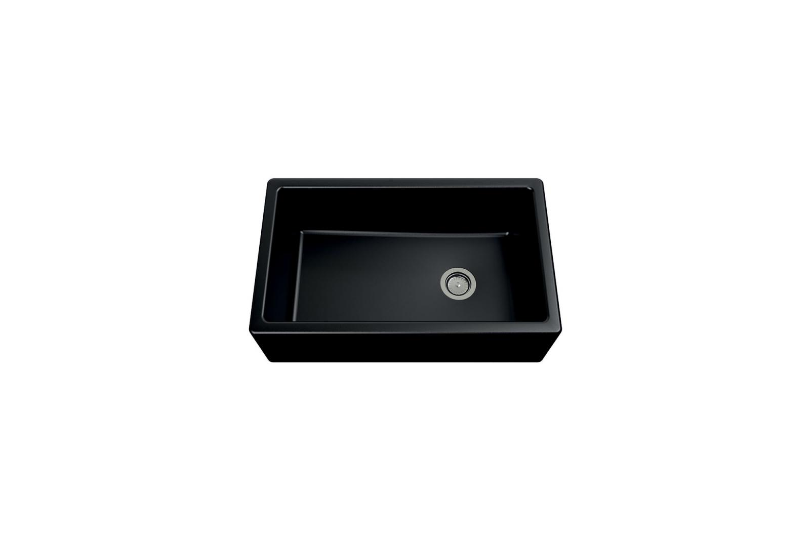 High-quality sink Philippe granit black - one bowl