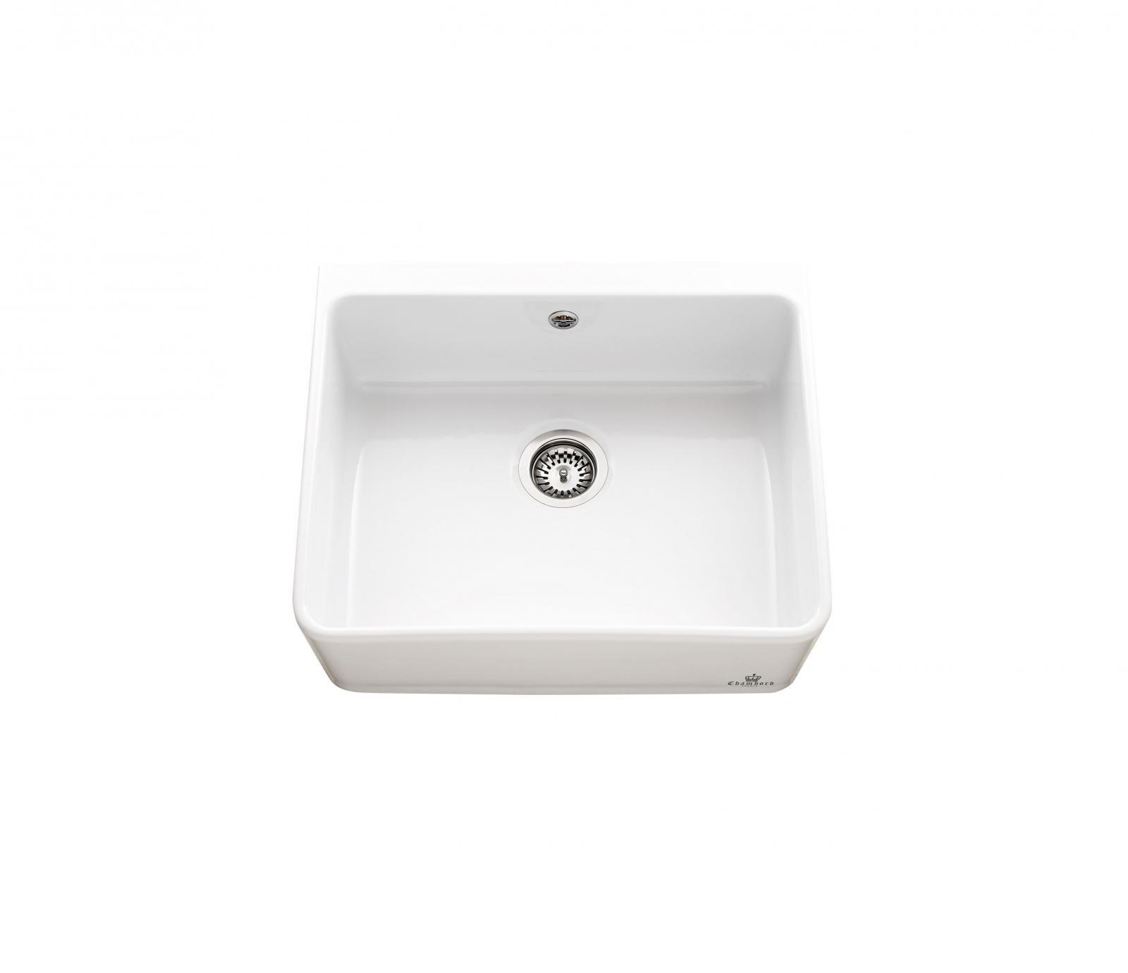 High-quality sink Clotaire I - single bowl, ceramic