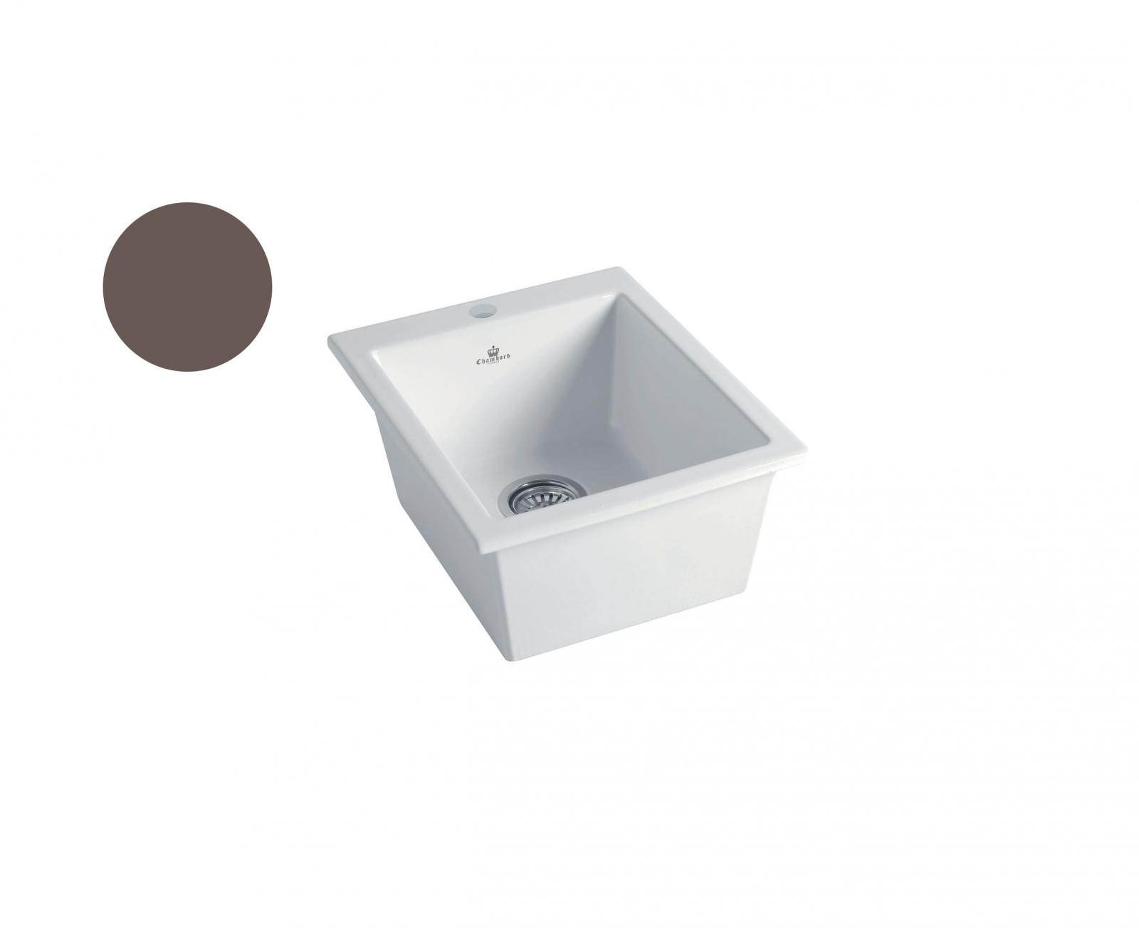 High-quality sink Constance taupe