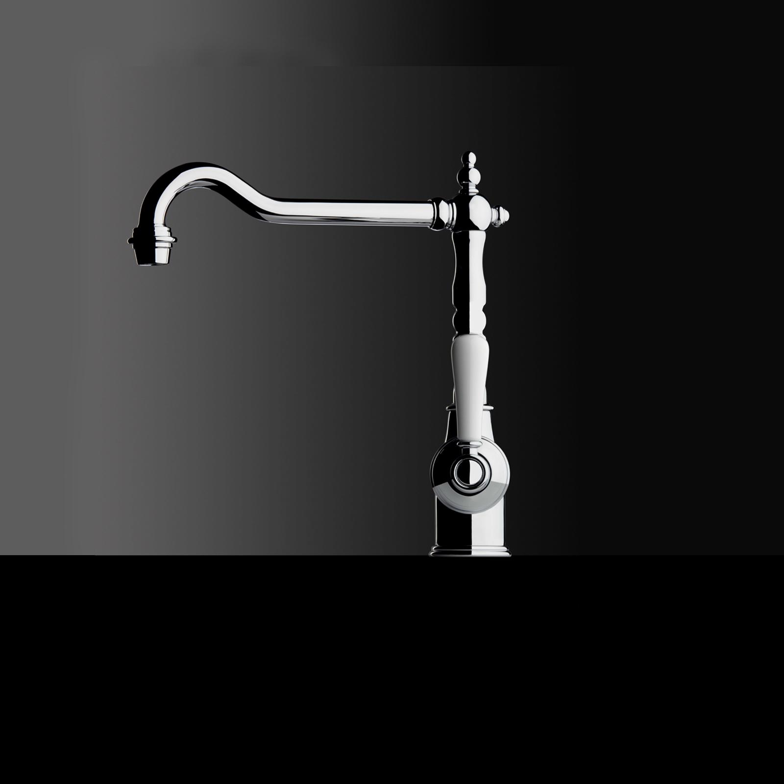 High-quality single lever tap Charlotte - Chrome - ambience 2