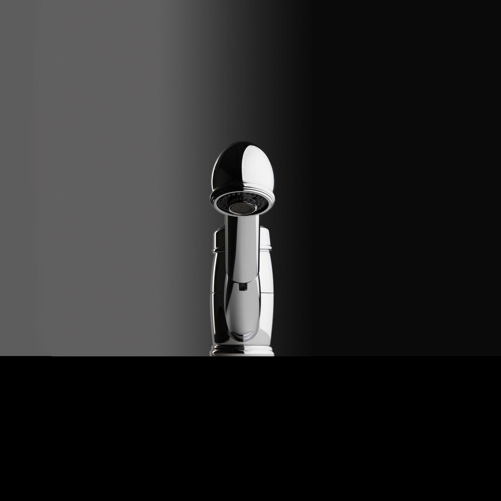 High-quality single lever tap Lionor - pull out spray - Chrome - ambience 2