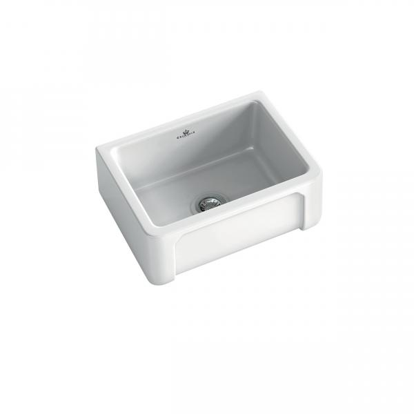 High-quality sink Henri I - single bowl, ceramic - ambience 3