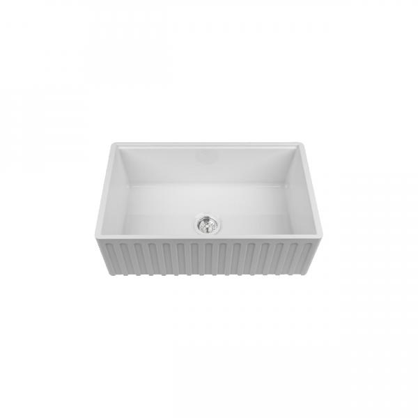High-quality sink Louis Le Grand I - single bowl, ceramic