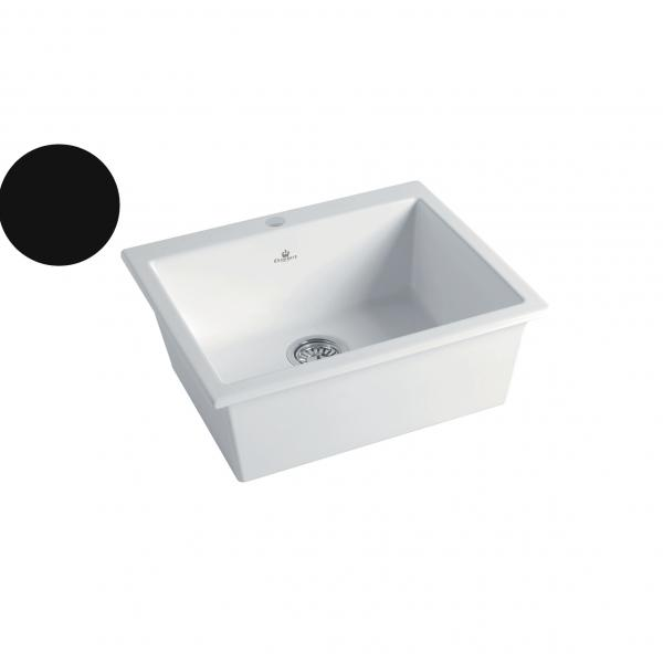 High-quality sink Constance II black