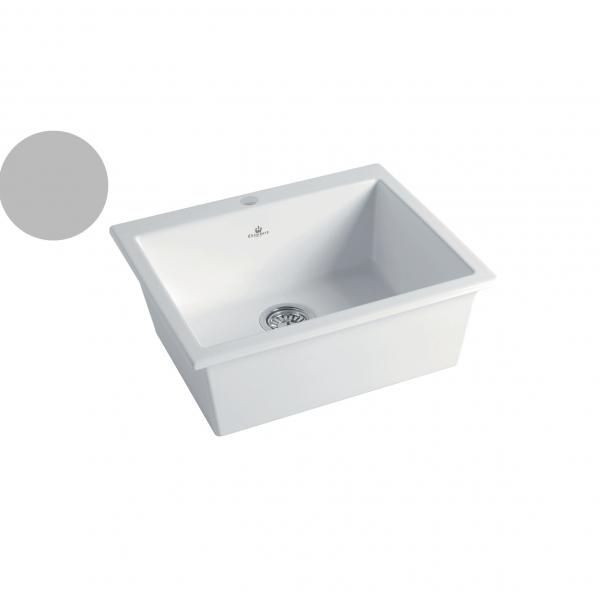 High-quality sink Constance II light grey