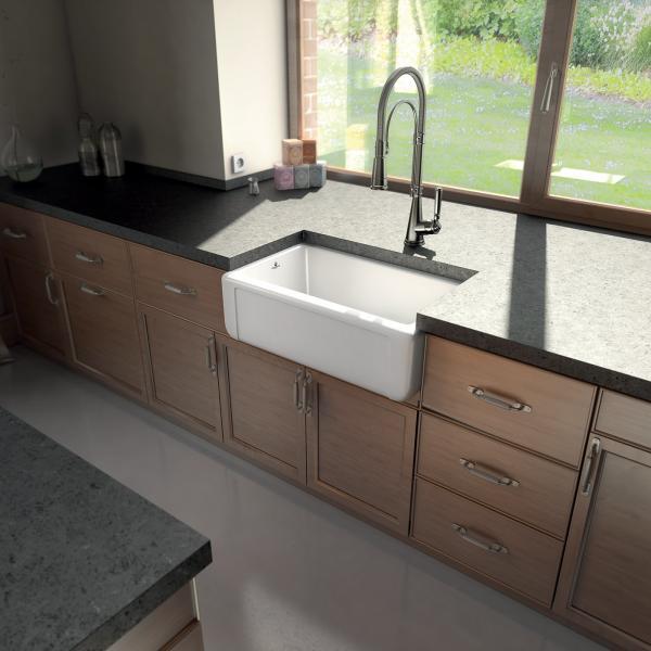 High-quality sink Henri II Le Grand - single bowl, ceramic