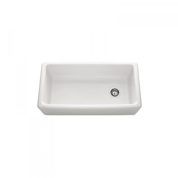 High-quality sink Philippe III - single bowl, ceramic