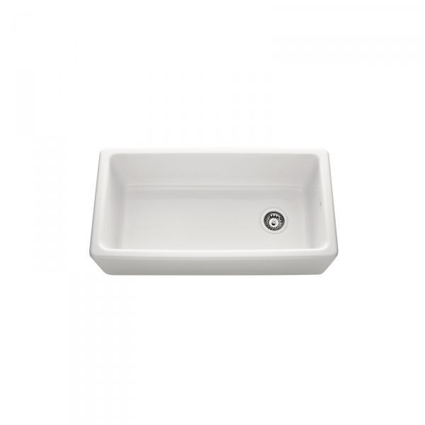 High-quality sink Philippe III - single bowl, ceramic