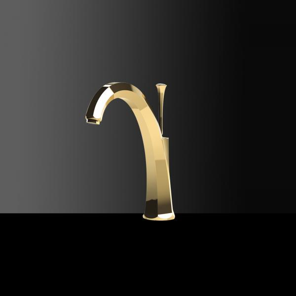 High-quality single lever tap Adèle Gold - Golden
