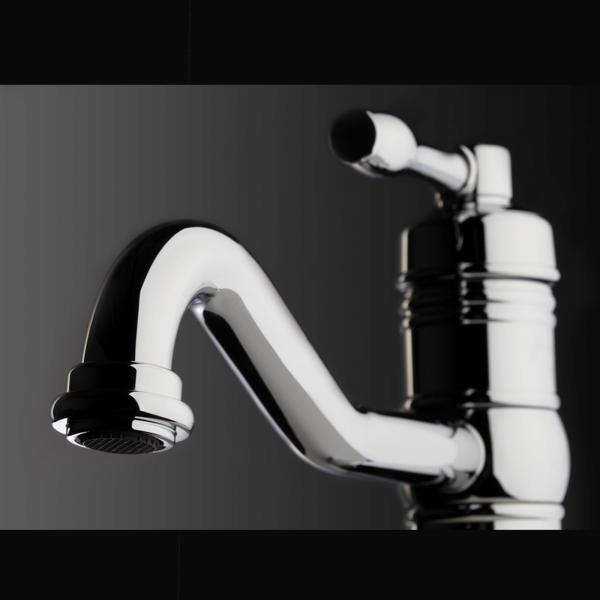 High-quality single lever tap Clémence - Chrome - ambience 1