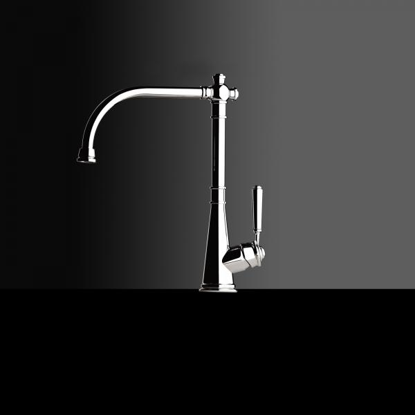 High-quality single lever tap Victor - pull out spray - Chrome