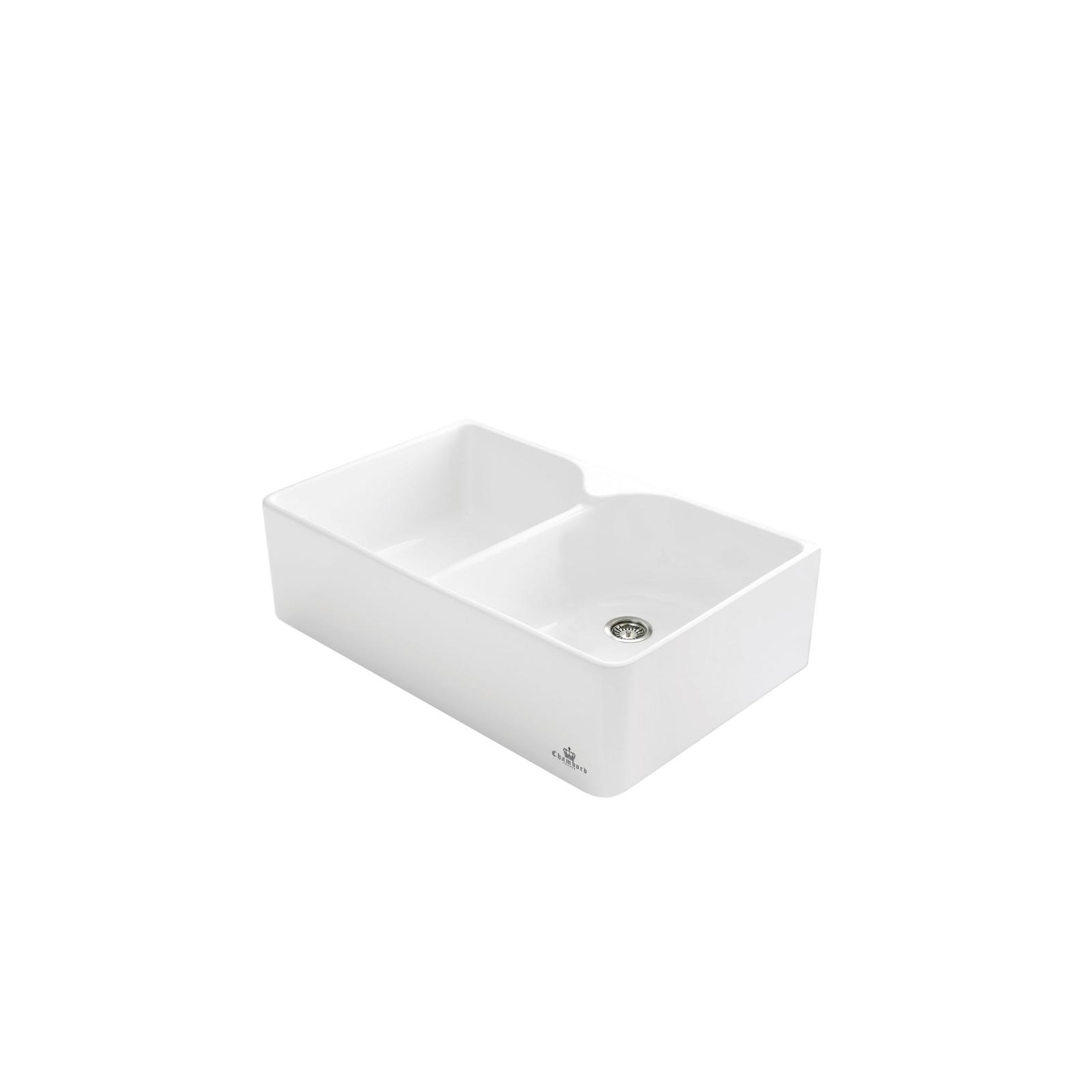 High-quality sink Clotaire Le Grand II - single bowl, ceramic
