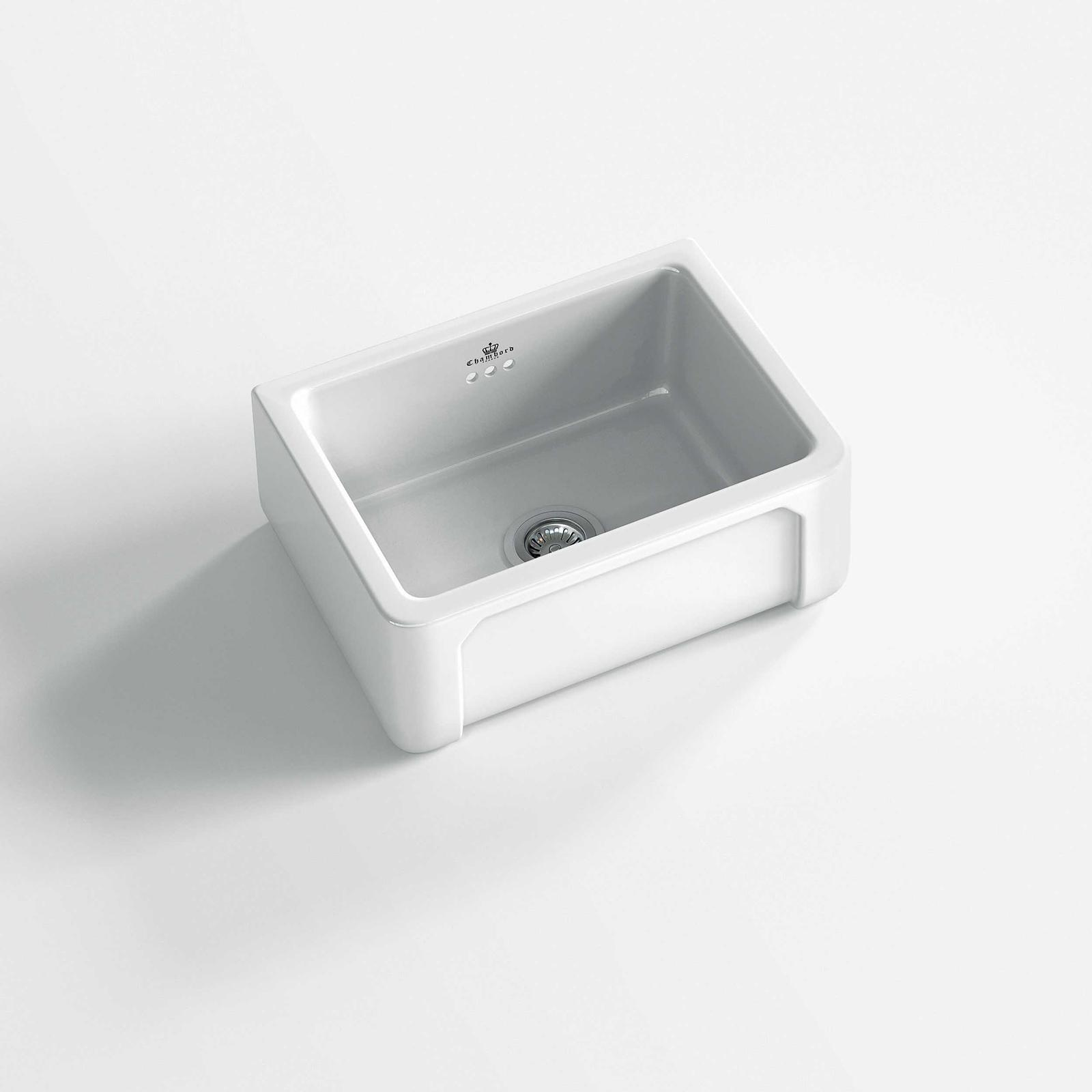 High-quality sink Henri I - single bowl, ceramic