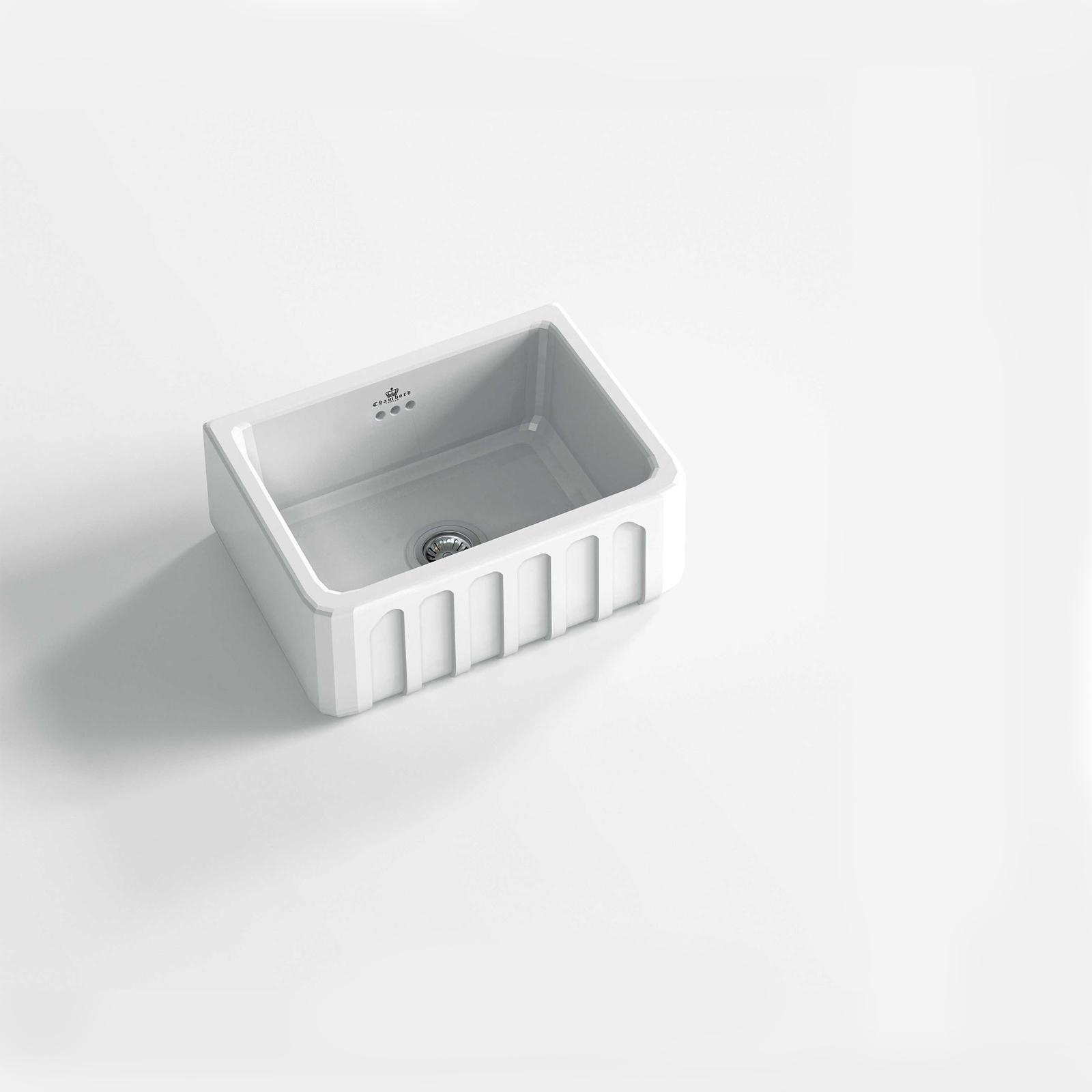 High-quality sink Louis I - single bowl, ceramic