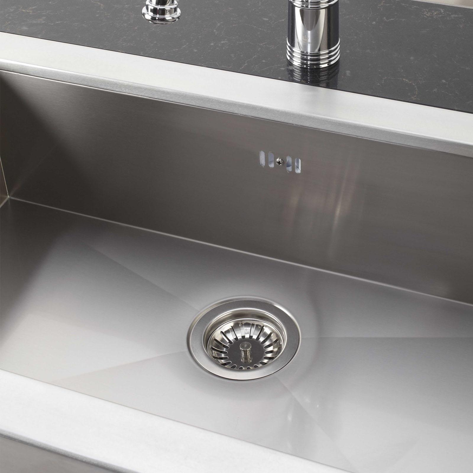 High-quality sink Napoléon - single bowl, pewter - ambience 2