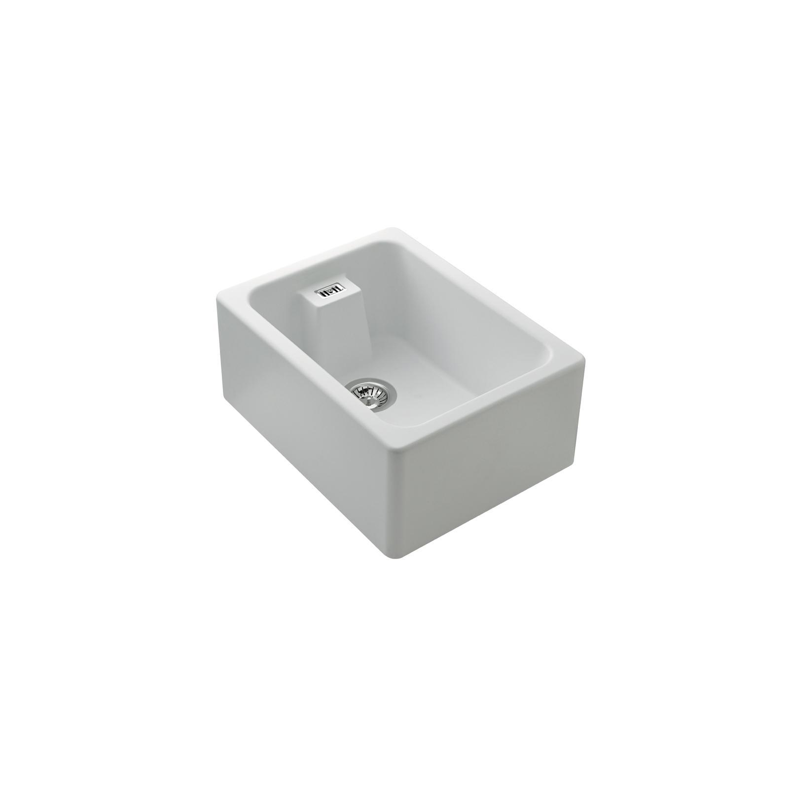 High-quality sink Clovis granit white - one bowl