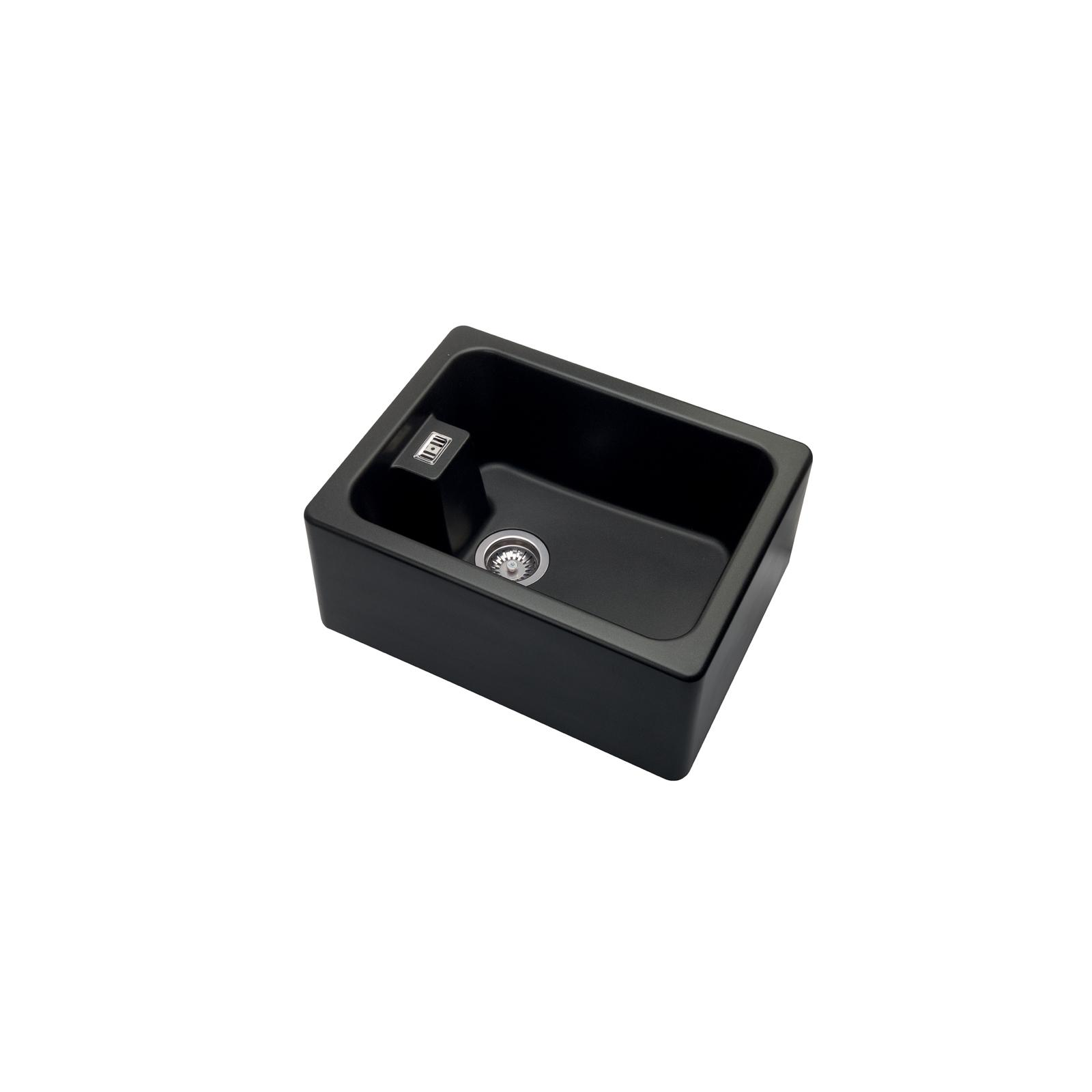 High-quality sink Clovis granit black - one bowl