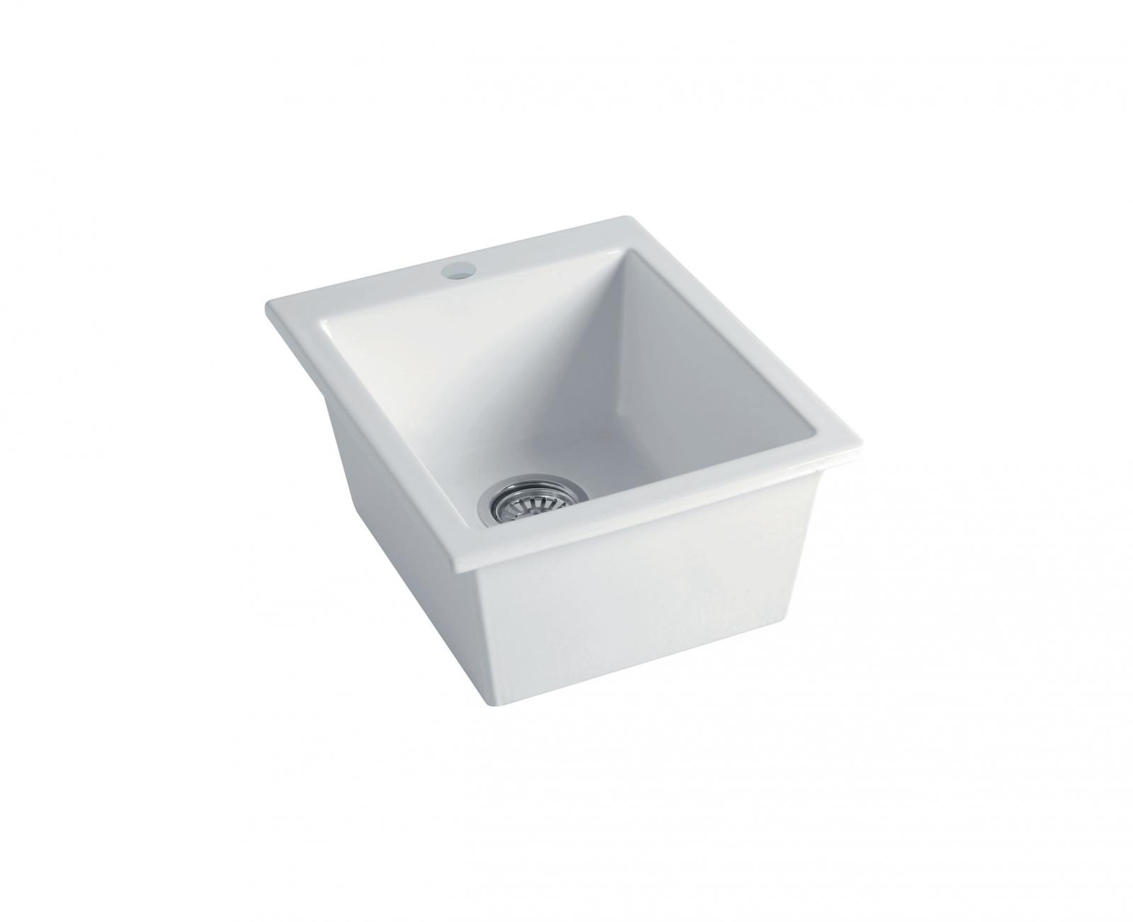 High-quality sink Constance white
