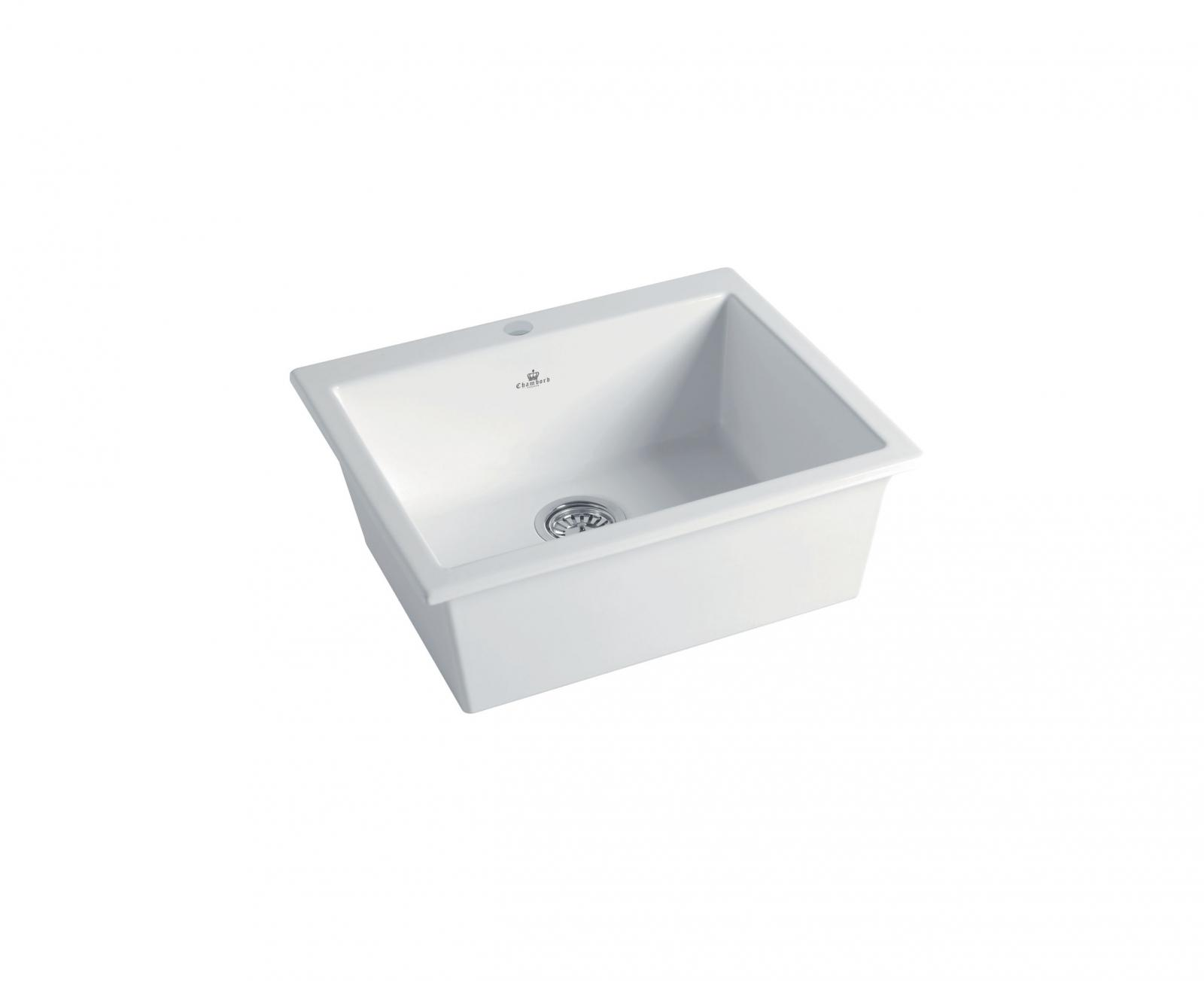 High-quality sink Constance II white