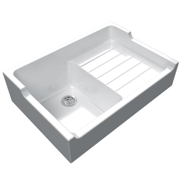 High-quality sink Francois 1 - single bowl, ceramic