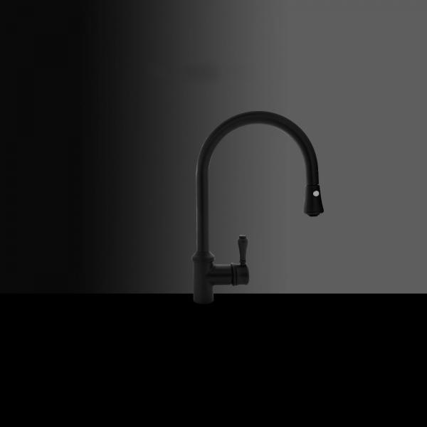 High-quality single lever tap Augustin - anthracite