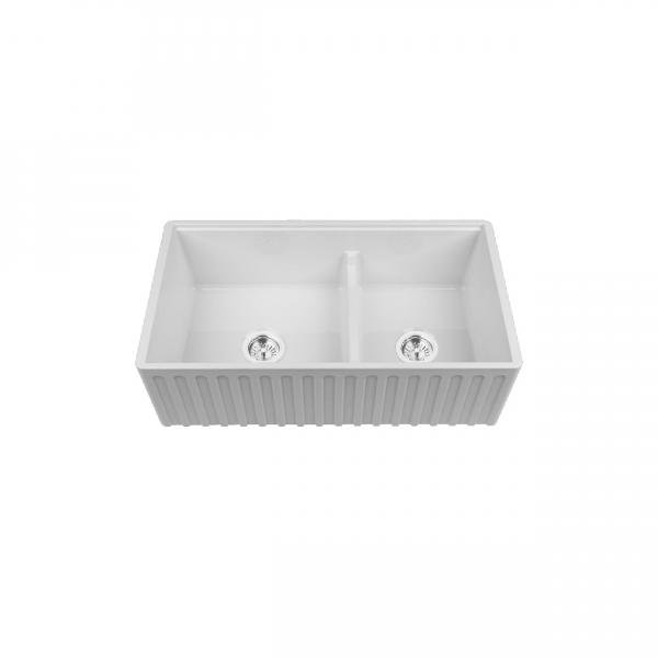 High-quality sink Louis Le Grand II - single bowl, ceramic