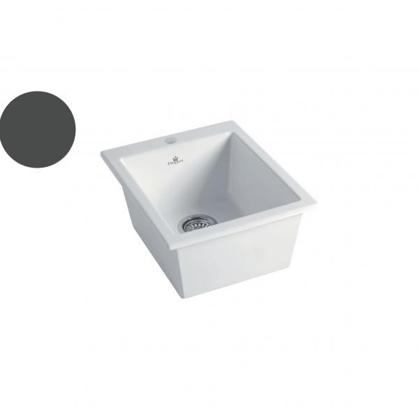 High-quality sink Constance dark grey