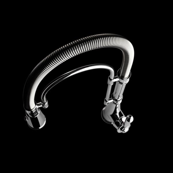 High-quality single lever tap Blaise - pull out spray - Chrome - ambience 1