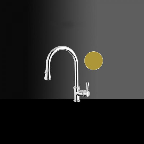 High-quality single lever tap Augustin - Gold